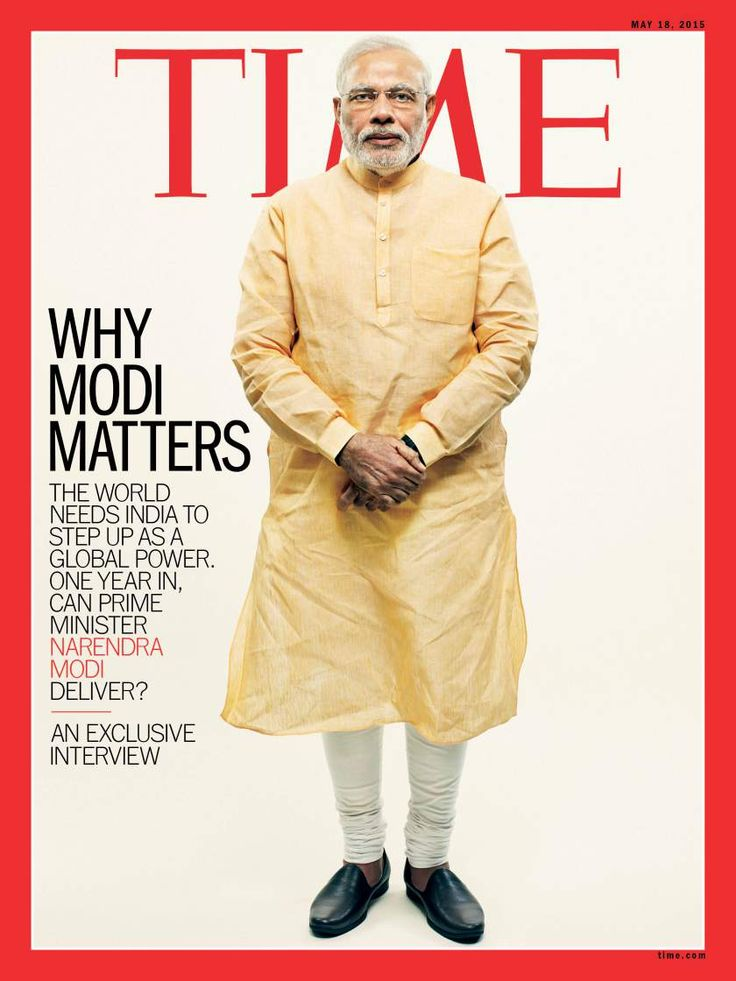 TIME's new cover: Why Narendra Modi matters. An exclusive interview.