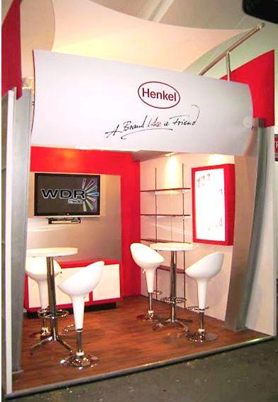 Stand de Henkel #Publicidad Corporativa #Eventos