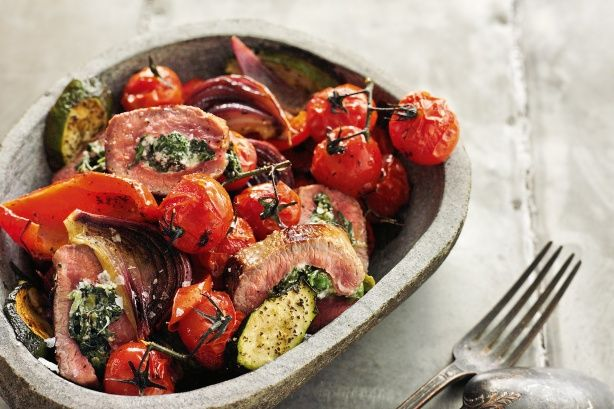 Spring lamb — flash-grilled in a cuisine from the Mediterranean.