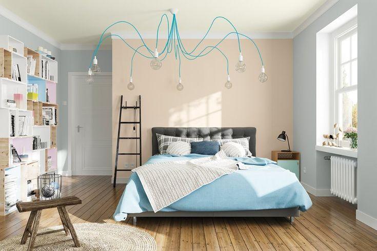 Zestawienie kolorów w sypialni