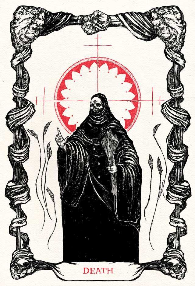 All Of The Tarot Cards I Ve Illustrated So Far In One Album Imgur Tarot Cards Art Tarot Tattoo Tarot Card Tattoo