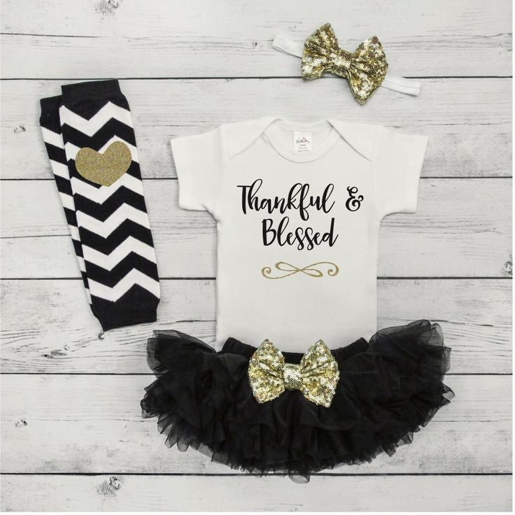 nice Baby Girl Thanksgiving Outfit Baby First Thanksgiving Outfit Newborn Thanksgivin...