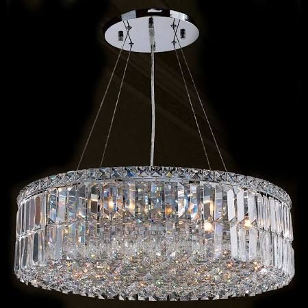 Worldwide lighting cascade 12 light 1 tier chrome chandelier with chrome indoor lighting chandeliers ambient lighting