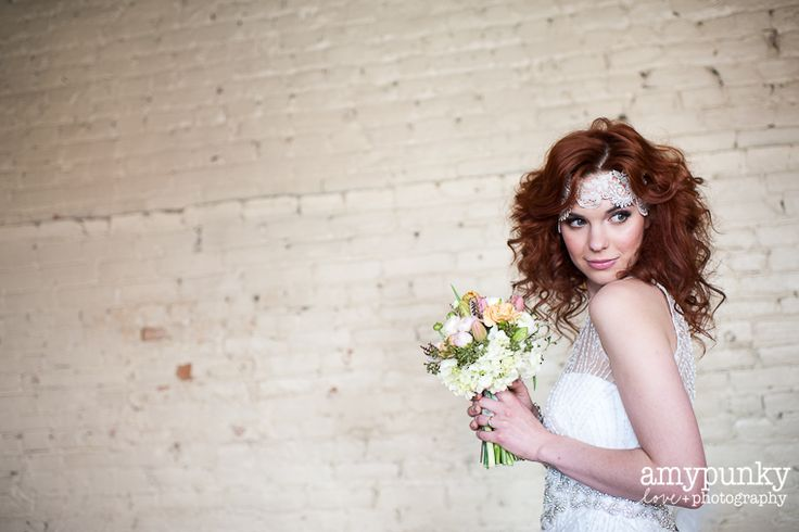 Romantic Bridal Hair & Makeup by Amal Aoufoussi- work Published on Style Me Pretty
