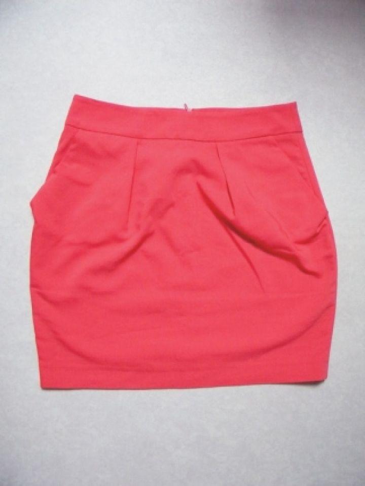 Jupe corail dans Jupe / vêtements / mode