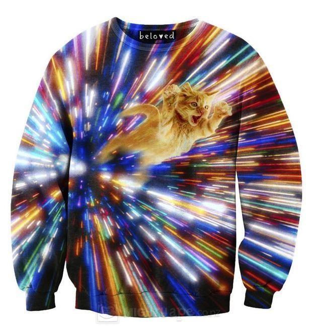 Cat Vortex Sweatshirt