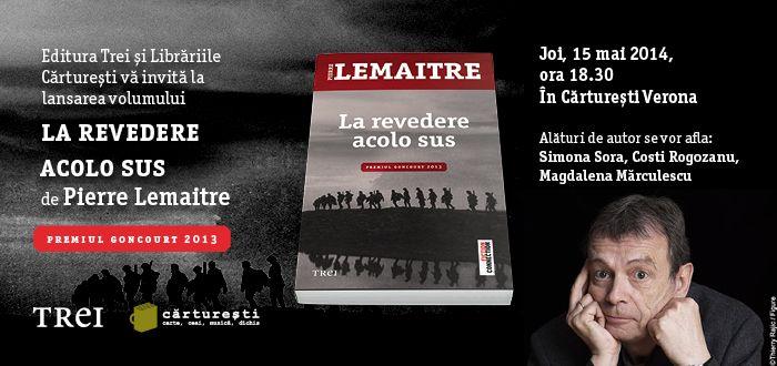 Premiul Goncourt 2013 se lanseaza la Bucuresti!