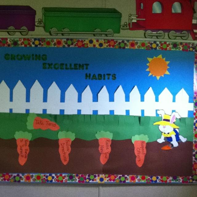 April Bulletin Board In My Class Preschool Ideas
