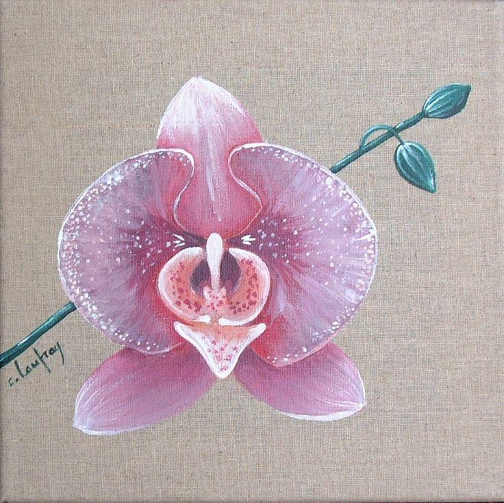 Les 25 meilleures id es concernant dessin orchid e sur pinterest tatouages de fleurs d - Dessin d orchidee ...