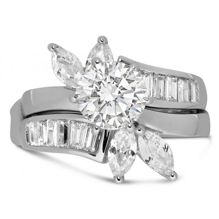 Marquise Wedding Ring Sets