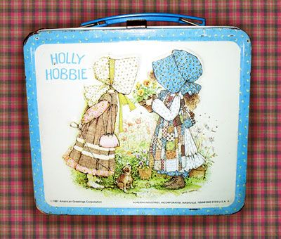 Holly Hobbie: 80S, Schools Lunches Boxes, Childhood Memories, Bedrooms Sets, Lunches Boxes Note, Vintage Lunchbox, Elementary Schools, Hobbies Lunchbox, Holly Hobbies