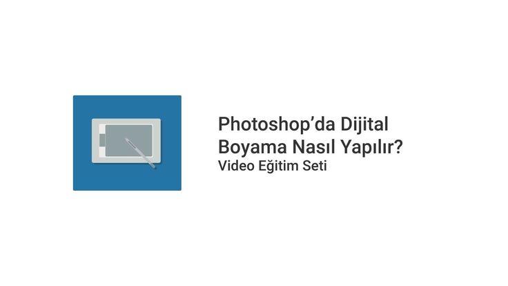 01. Photoshop'da Dijital Boyama Nasıl Yapılır? – Hoşgeldiniz: Nasıl Yapılır… #NasılYapılır #dijitalboyamadersleri #dijitalboyamaprogramları