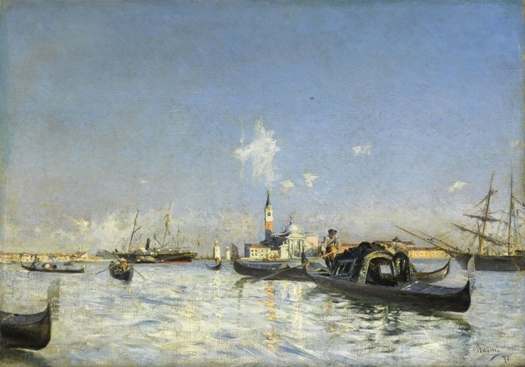 Το νησί Άγιος Γεώργιος στη Βενετία (1872)