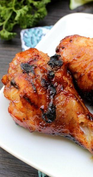 Honey Ginger Barbecue Chicken