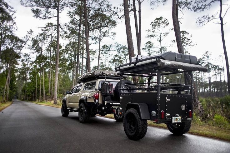 "Off road trailer featureing 31"" allterrain tires, an axel"