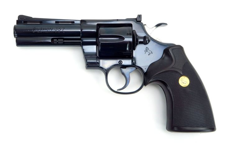 Revolver Airsoft Colt Python 4 inch CO2