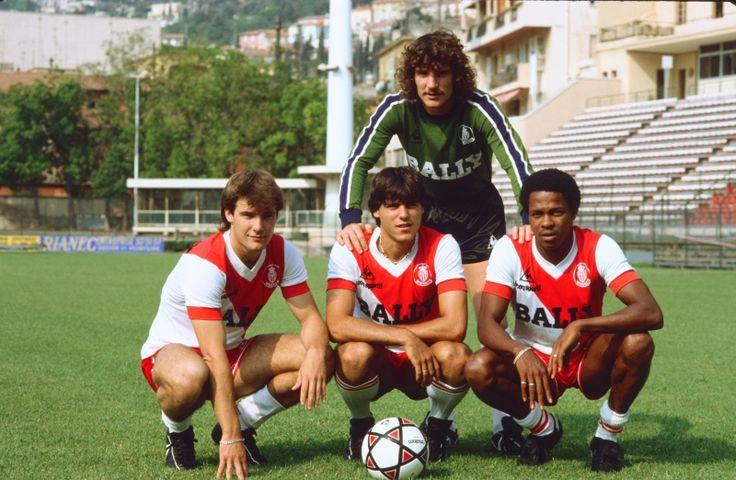 Jean-Luc Ettori, Bruno Bellone, Manuel Amoros et Alain Couriol