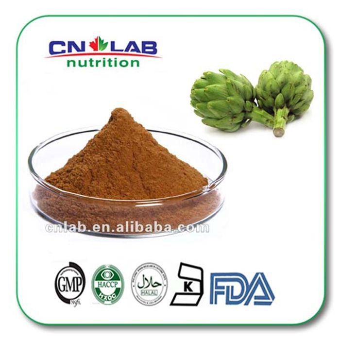 hot selling 5% Cynarin UV Artichoke Extract Cynara scolymus L fresh Artichoke Extract 200g/lot