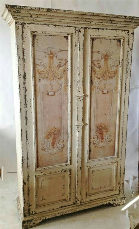 17 best images about shabby chic armoires on pinterest. Black Bedroom Furniture Sets. Home Design Ideas