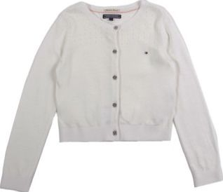 Tommy Hilfiger Lana Cardigan White `4 years,6 years,8 years,10 Fabrics : Mixed Cotton Jersey Details : Straight cut, Long sleeves, Buttons, Openwork details on shoulders Composition : 60% Cotton, 20% Polyamide, 20% Viscose http://www.comparestoreprices.co.uk/january-2017-7/tommy-hilfiger-lana-cardigan-white-4-years-6-years-8-years-10.asp
