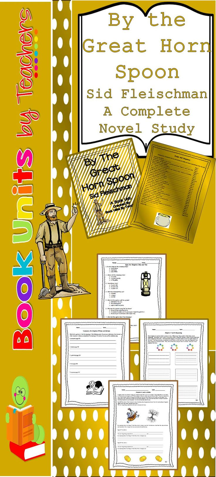 worksheet By The Great Horn Spoon Worksheets 19 best by the great horn spoon images on pinterest antlers book unit includes figurative language grammar reading
