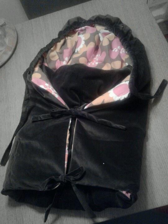 Baby bag retro style