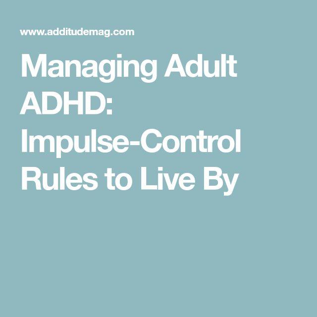 impulse control strategies for adults pdf