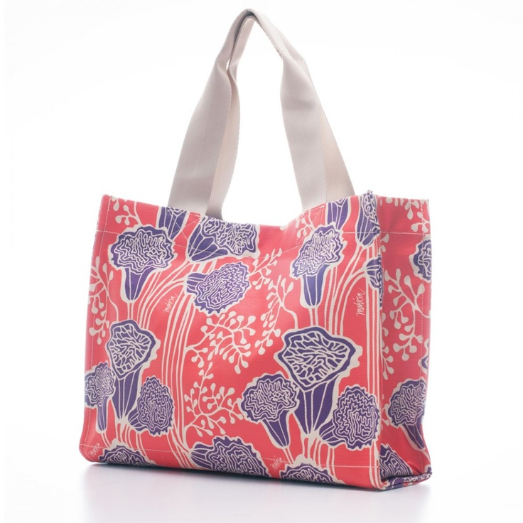 Bags & Totes: Gallery Tote Red Letter $87