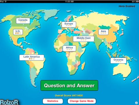 74 best 4th Grade iPad Apps \ Websites images on Pinterest App - new apple app world map