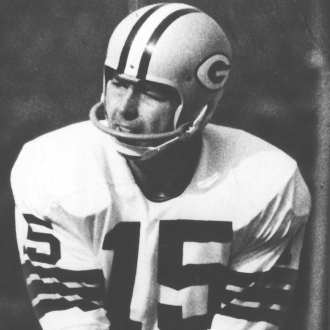 Bart Starr, c. 1966, quarterback, Green Bay Packers   From JSO  Photo Gallery:  Bart Starr through the years