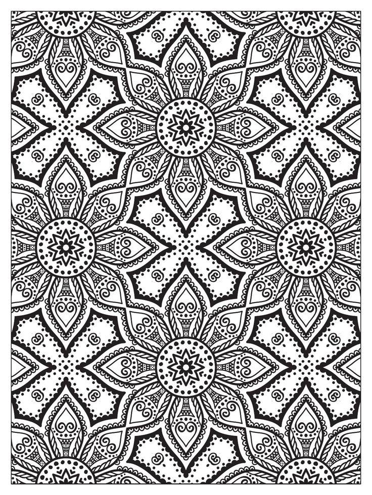 Mindfulness Mandalas N 3 Coloring