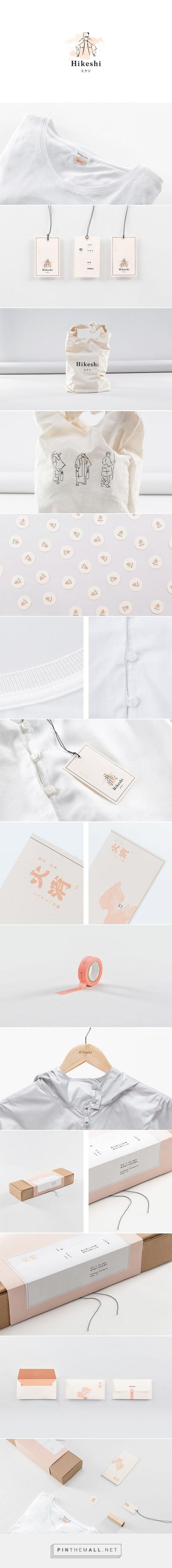 Hikeshi clothing packaging designed by Futura - http://www.packagingoftheworld.com/2015/08/hikeshi.html
