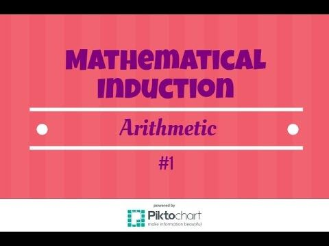 The 25 best mathematical induction ideas on pinterest youtube fandeluxe Gallery