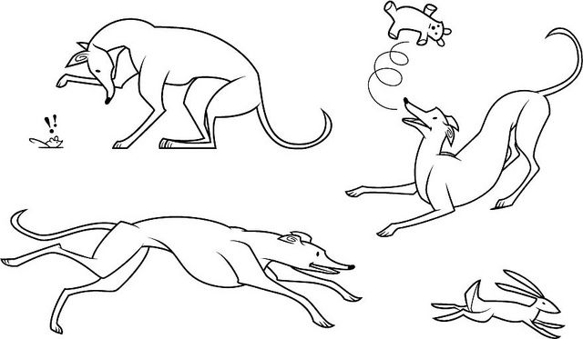 Dog Dreams, by Marty Harris #greyhound #greyhoundart greyhound art