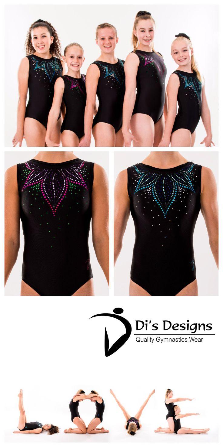 """Flora"" - Di's Designs - Gymnastics Leotard #gymnastics #gymnasticsleotard #leotard #artisticgymnastics #gymsuit #gymnast #artisticgymnastics"