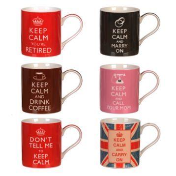 Keep Calm Mugs | Kirklands