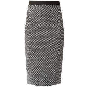 Cameo Rose Grey Pencil Skirt