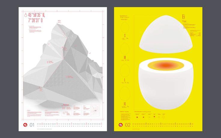 Scheufelen Kalender 2016 - Qualität und Perfektion   STRICHPUNKT DESIGN