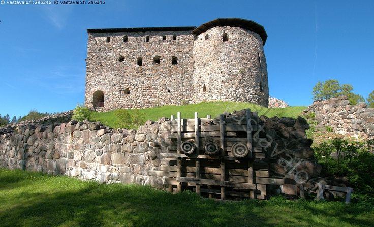 Raaseporin linna.  Keskiaikainen, Snappertuna linnoitus. Raaseporin linna Snappertunassa rakennettiin 1300-luvulla.