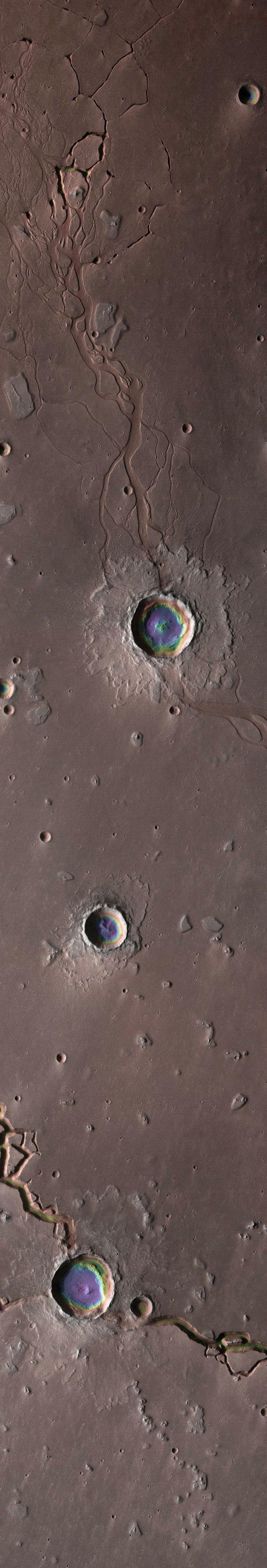 The Depths of Hephaestus Fossae, Mars