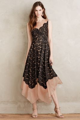 Tracy Reese Arietta Lace Dress #holidayparty #anthrofave