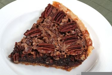 Tarte au chocolat et aux pacanes