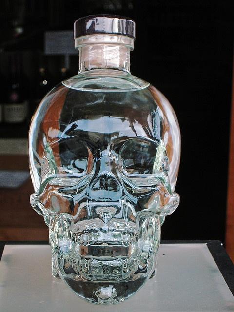 Vodka Bottle Crystal Skull And Duke On Pinterest