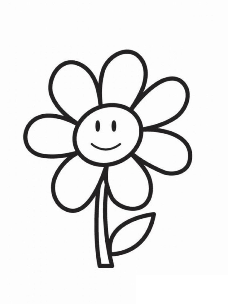 Coloring Sheet Of A Flower : 10 best flower coloring pages images on pinterest