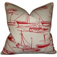 Lifeguard - Regatta Red Pillow