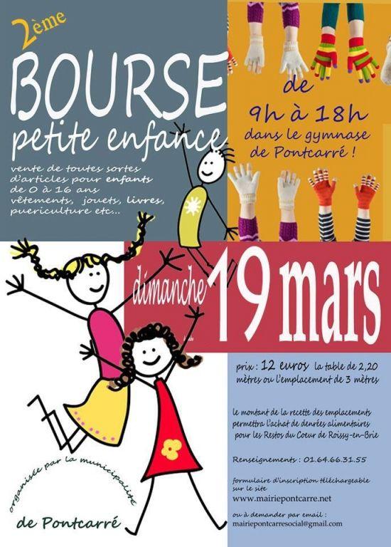 2ème BOURSE petite enfance, Pontcarré (77135), Seine-et-Marne