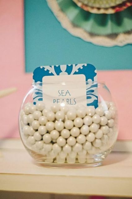 24 Mermaid Bridal Shower Ideas For Fairytale Lovers                                                                                                                                                     More