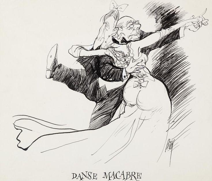 Danse macabre: Peter van Straaten
