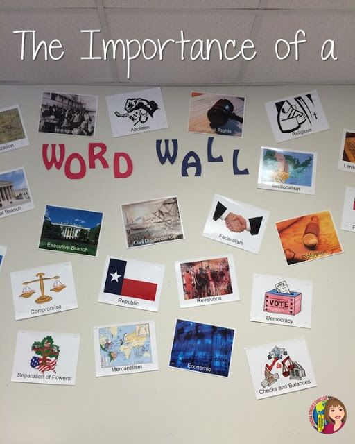 Using Word Walls Successfully in Social Studies