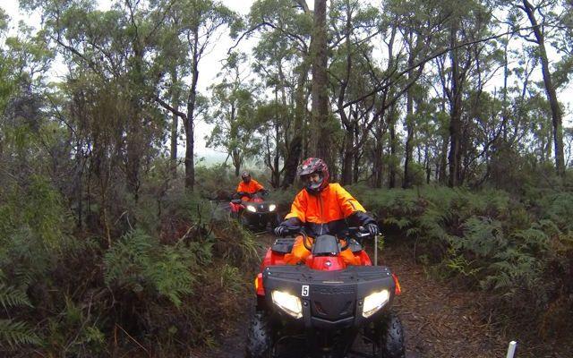 Kookaburra Ridge Quad Bike Tour
